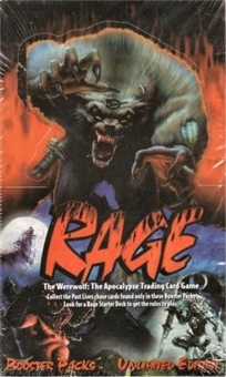 Rage: The Werewolf: The Apocalypse Booster Box