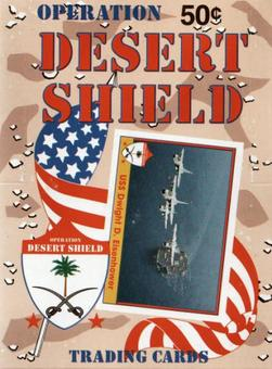 Operation Desert Shield Wax Box (1991 Pacific)
