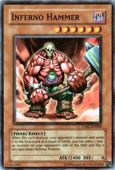 Yu-Gi-Oh Promo Single Inferno Hammer Super Rare CMC