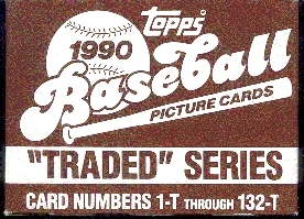 1990 Topps Traded Baseball Factory 100 Set Case