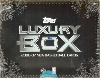 2006/07 Topps Luxury Box Basketball Hobby Box