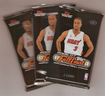 2006/07 Topps Full Court Basketball Hobby Pack