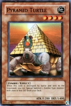Yu-Gi-Oh Champion Pack 2 Single Pyramid Turtle Super Rare (CP02-EN004)