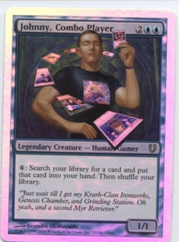 Magic the Gathering Unhinged Single Johnny, Combo Player Foil