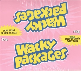 Wacky Packages Series 5 Hobby Box (2007 Topps)