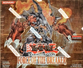 Upper Deck Yu-Gi-Oh Force of the Breaker 1st Edition Booster Box