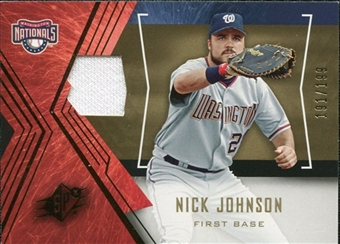 2005 Upper Deck SPx Jersey #89 Nick Johnson /199