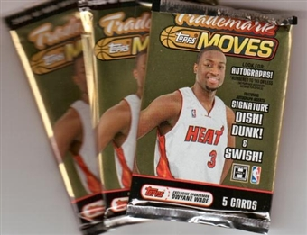 2006/07 Topps Trademark Moves Basketball Hobby Pack