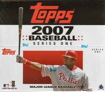 2007 Topps Series 1 Baseball 24 Pack Box (12 cards per pack)