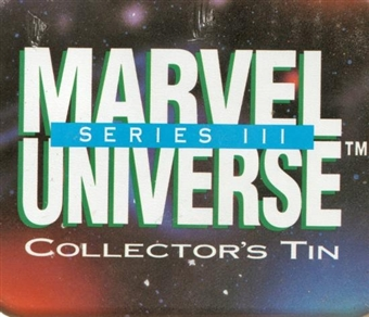 Marvel Universe Series 3 Factory Tin Set (1992 Impel)