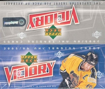 2005/06 Upper Deck Victory Hockey Hobby Box