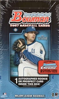 2007 Bowman Baseball Hobby Box