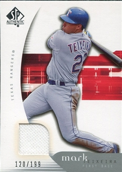 2005 Upper Deck SP Authentic Jersey #66 Mark Teixeria /199
