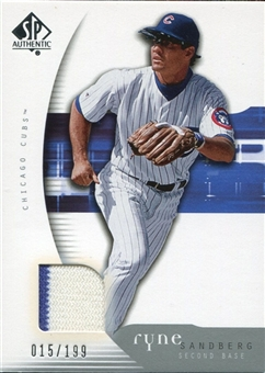 2005 Upper Deck SP Authentic #86 Jersey Ryne Sandberg /199