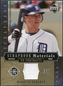 2005 Upper Deck UD Portraits Scrapbook Materials #OR Magglio Ordonez Jersey