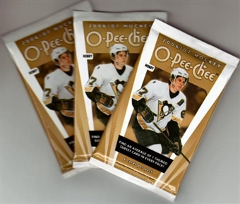 2006/07 Upper Deck O-Pee-Chee Hockey Hobby Pack