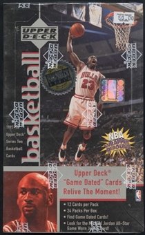 1997/98 Upper Deck Series 2 Basketball Hobby Box