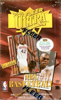 1995/96 Fleer Ultra Series 2 Basketball Retail Box