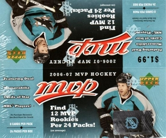 2006/07 Upper Deck MVP Hockey 24-Pack Box