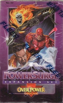 Marvel Over Power Power Surge Hobby Box (1995 Fleer)