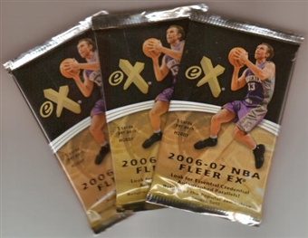 2006/07 Fleer E-X Basketball Hobby Pack