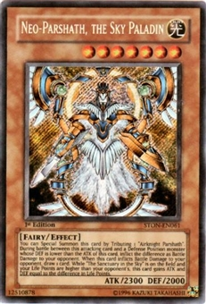 Yu-Gi-Oh Strike of Neos Single Neo-Parshath, the Sky Paladin Secret Rare - 1st Edition