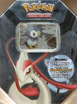 2007 Pokemon Spring Piplup Gift Tin