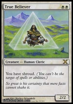 Magic the Gathering 10th Edition Single True Believer Foil