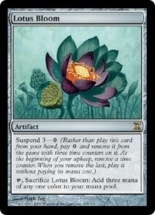 Magic the Gathering Time Spiral Single Lotus Bloom Foil
