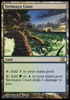Magic the Gathering 10th Edition Single Yavimaya Coast Foil