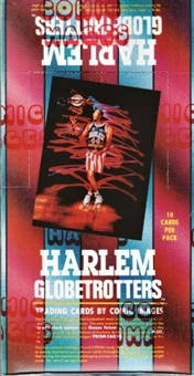 Harlem Globetrotters Basketball Hobby Box (1992 Comic Images)