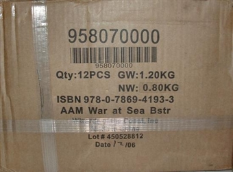 Axis & Allies Miniatures War at Sea Booster Case (12 ct.) 95807