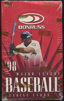 1998 Donruss Baseball 24 Pack Box