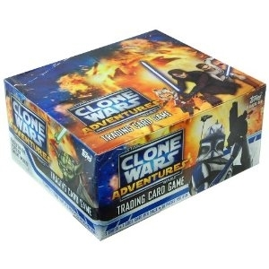 WOTC Star Wars TCG Clone Wars Adventures Booster Box