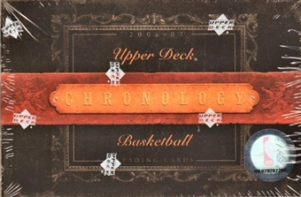 2006/07 Upper Deck Chronology Basketball Hobby Box