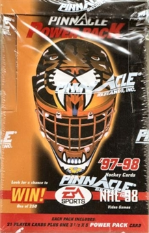 1997/98 Pinnacle Power Pack Hockey Box