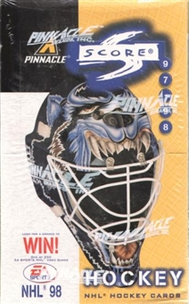1997/98 Score Hockey 48 Pack Box
