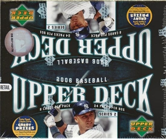 2006 Upper Deck Series 2 Baseball 24 Pack Box