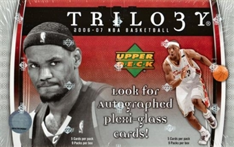 2006/07 Upper Deck Trilogy Basketball Hobby Box