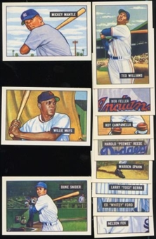 1951 Bowman Baseball Reprint Factory Set