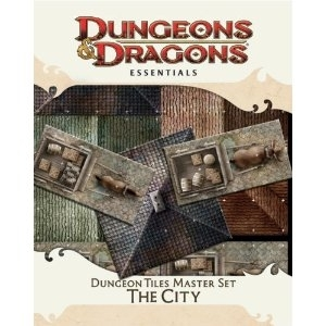 D&D 4th Ed Dungeon Tiles Master Set: The City