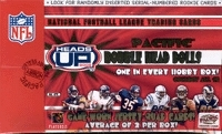 2002 Pacific Heads Up Football Hobby Box