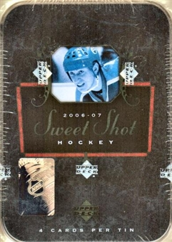 2006/07 Upper Deck Sweet Shot Hockey Hobby Box