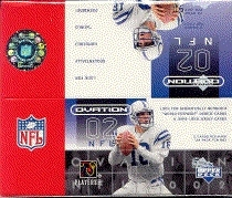 2002 Upper Deck Ovation Football Hobby Box