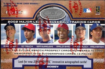 2002 Fleer Hot Prospects Baseball Hobby Box