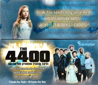 The 4400 Season Two Hobby Box (2007 InkWorks)