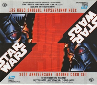 Star Wars 30th Anniversary Hobby Box (2007 Topps)
