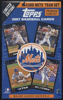2007 Topps Baseball New York Mets Team Set