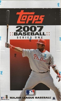 2007 Topps Series 1 Baseball 36 Pack Box