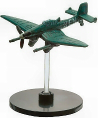 Axis & Allies Contested Skies Miniature Junkers JU 87G Stuka No Stat Card